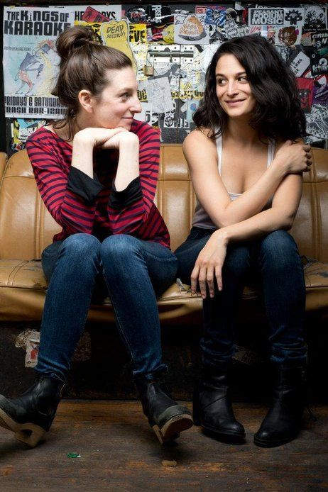 Director Gillian Robespierre (left) co-wrote Obvious Child as a short film in 2009 with an empowered lead female in mind. Jenny Slate, who s...