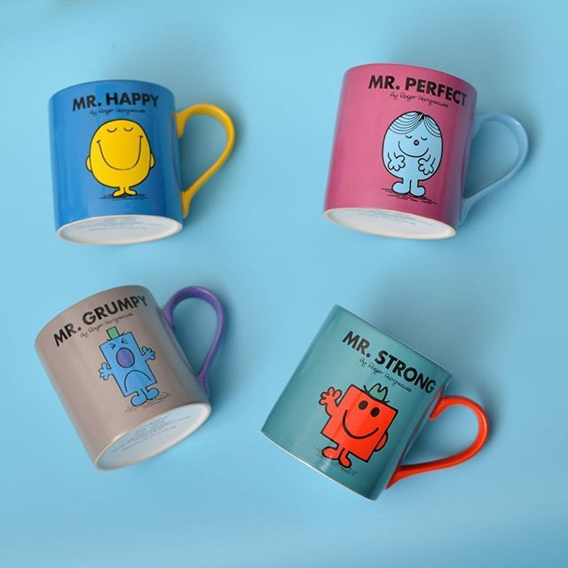 Gift pick of the day! These cute mugs for the Misters in your life! ☕