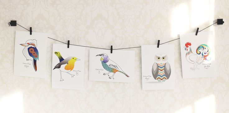 Prints - For the luv of Birds