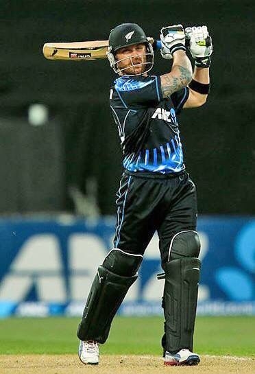 NZ Captain Brendon McCullum