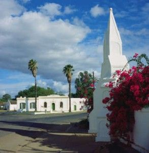 Clanwilliam Museum at the end of the Main Road