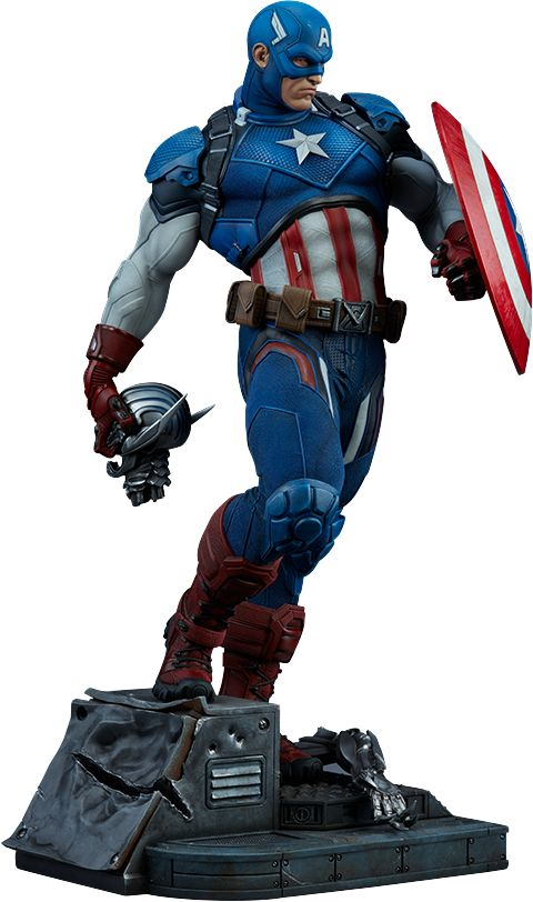marvel Captain America Premium Format™ Figure by sideshow collectibles for more information or to purchase just click image