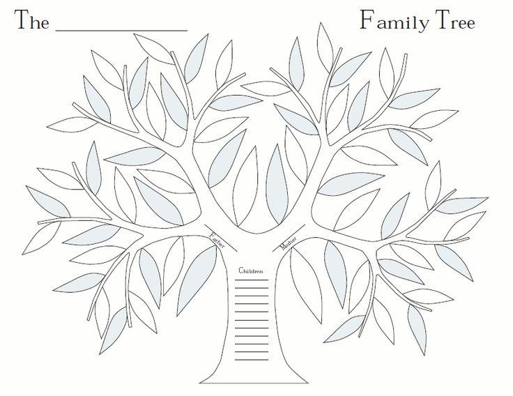 26 Best Family Tree Images On Pinterest Family Tree Chart Family