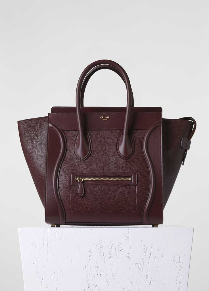 Micro Luggage Handbag in Goatskin - Fall / Winter Collection 2015   CÉLINE. Italianist.com