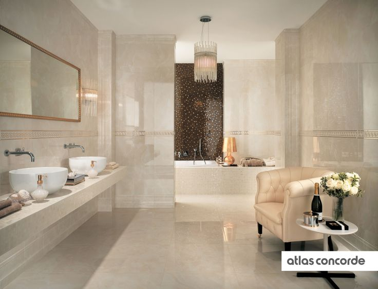 #MARVEL champagne and bronze | #AtlasConcorde | #Tiles | #Ceramic | #PorcelainTiles