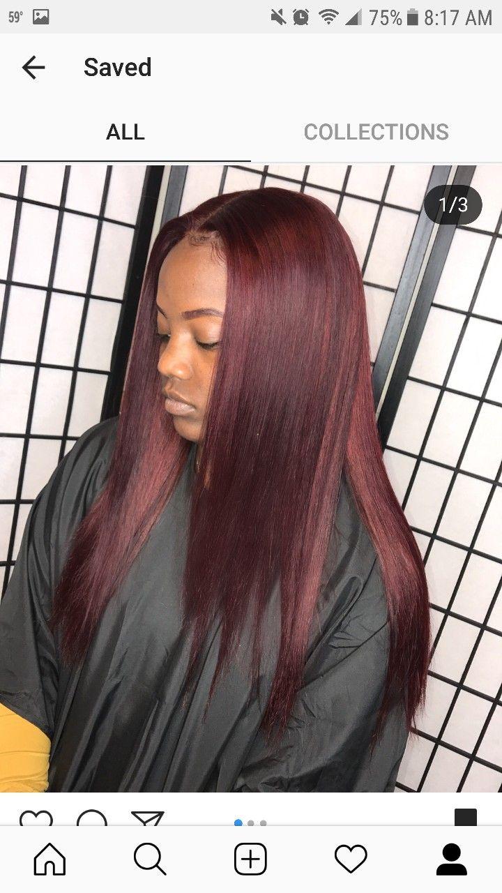 I Like This Hair Color Hair Color Auburn Burgundy Hair Weave Hair Color