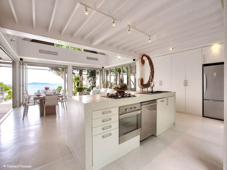Headland Villa 2 in Koh Samui, Thailand - #modern #kitchen