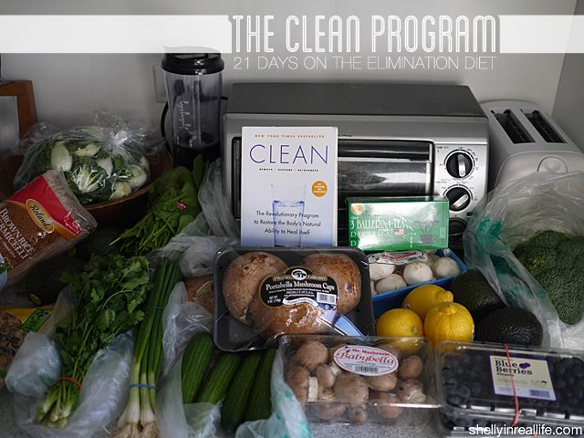 Day 1: Starting the 21 Day Clean Program & My Grocery List for a Cleaner Living