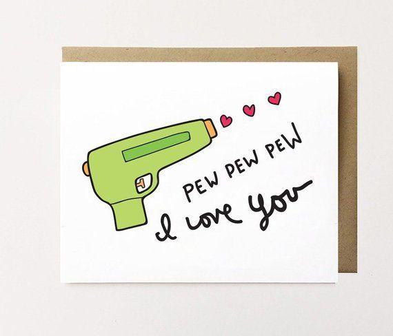 Niedliche Geburtstagskarte Freund Ich liebe dich Karte Freund   – ich liebe dich