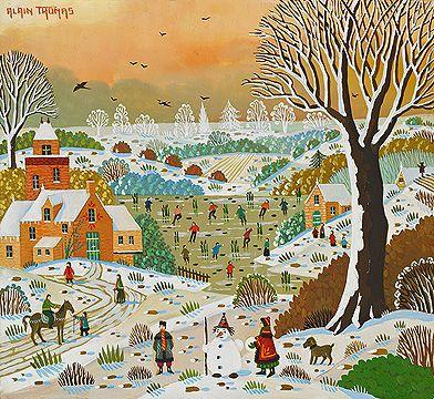 18 best alain thomas images on pinterest folk art naive for Alain thomas