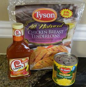 Aunt Nubby's Kitchen: Hawaiian Crock Pot Chicken
