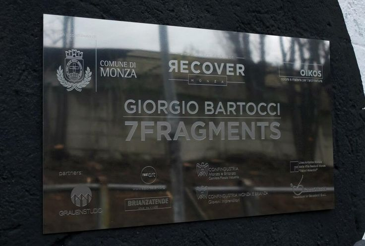 7FRAGMENTS  Giorgio Bartocci Monza