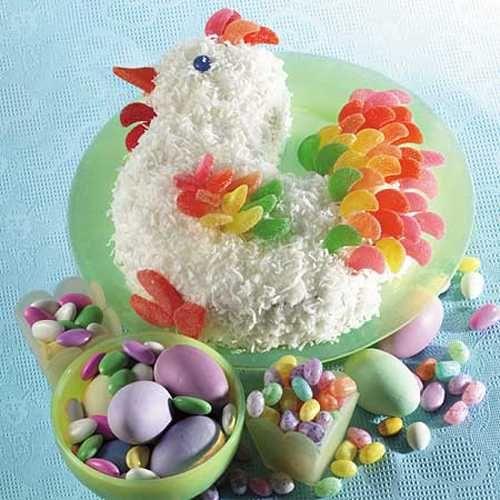 Торт «Петушок»