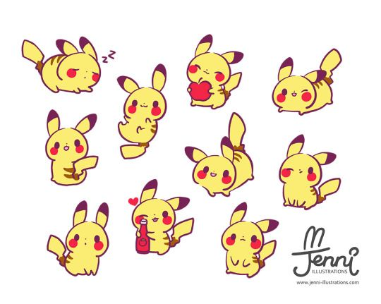 how to draw a cute rabbit pokemon