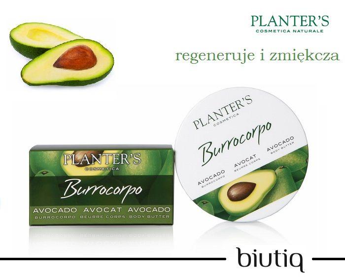 Planter's - odżywcze masło do ciała z olejkiem z avocado