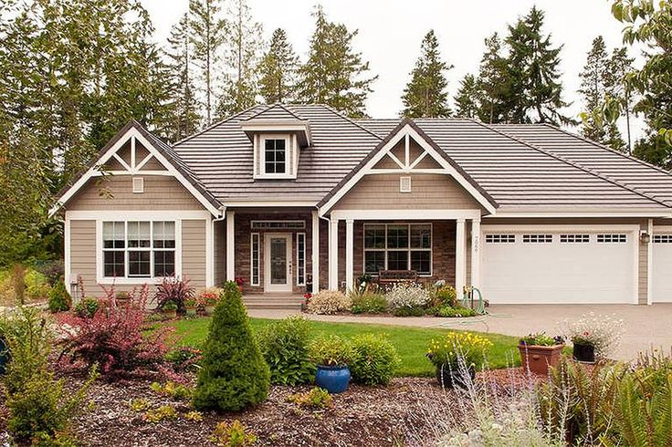 Craftsman style house plan 3 beds 2 5 baths 2357 sq ft for Houseplans com craftsman