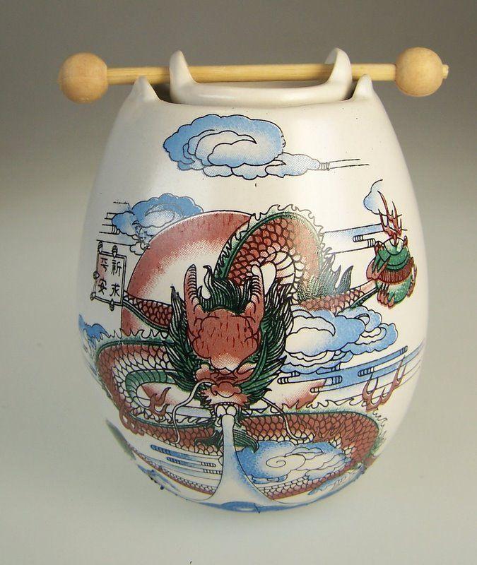 Oriental Japanese Dragon Oil Burner  !FREE UK P&P! !Free Oil!