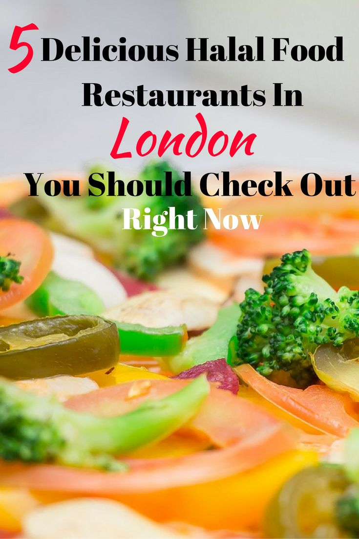 Are you in #London and looking for #halal? Don't miss these 5 amazing restaurants! #travel #Muslim