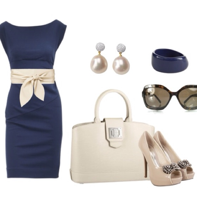 loveFashion, Style, Clothing, Blue, Audrey Hepburn, Workoutfit, Work Outfit, The Dresses, The Navy