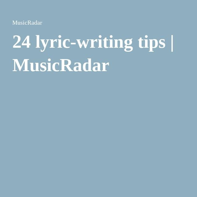 tips on writing songs Learn how to write a good song with our complete newbie's guide to songwriting course categories how to write a good song: some tips for learning a.