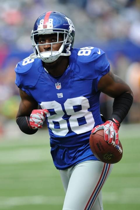 Giants vs. Buccaneers. New York Giants WR Hakeem Nicks.