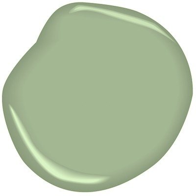 Sea Green Cw 515 By Benjamin Moore A Mixture Of The