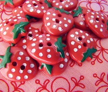 buttons, pink, strawberry (Full Size)