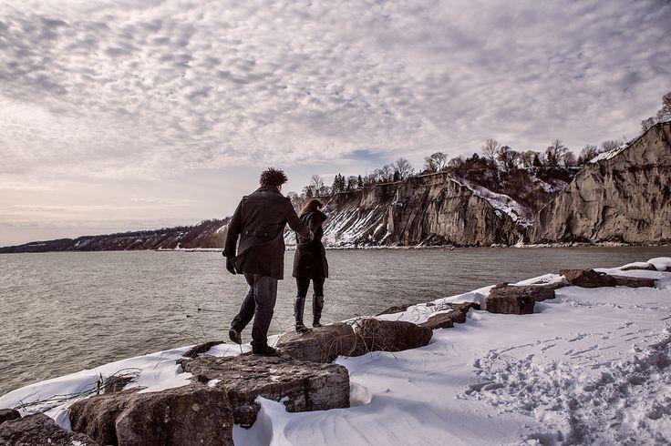 Scarborough Bluffs engagement, my favorite
