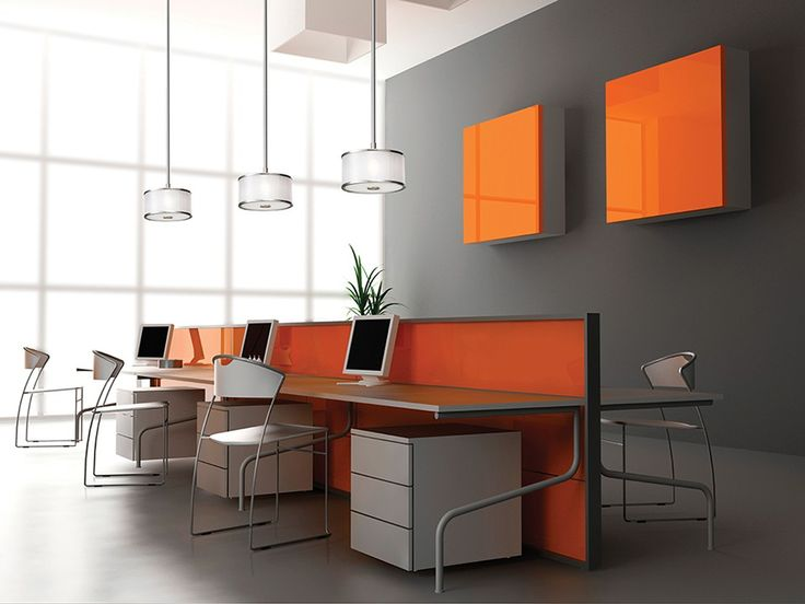 Astonishing Unique Office Design Of Interior Designs For Living Rooms Ideas  Contemporary Office Space Design With Colorful Furniture Slim Office  Chairs: ... Idea