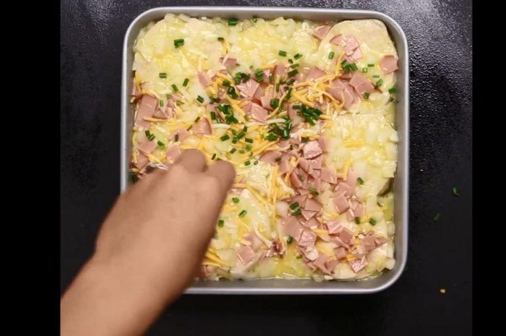 Une omelette au fromage différente...parfaite pour un brunch