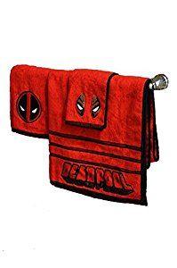 Amazon.com: Marvel Deadpool 3 Piece Bath Towel Set: Home & Kitchen