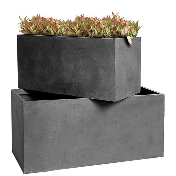 Best 25 jardini re rectangulaire ideas on pinterest for Jardiniere rectangulaire haute