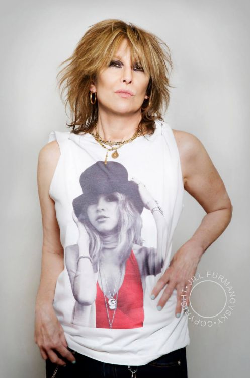 Stevie Nicks Tee On Chrissie Hynde. Wish I could see them on their tour together.