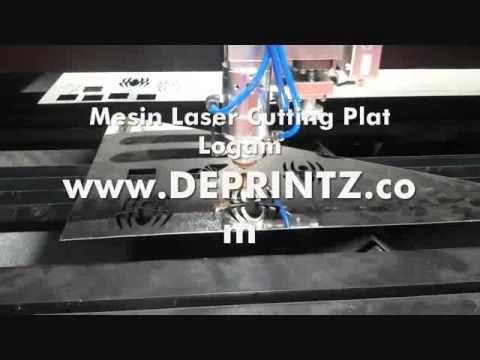 Harga Mesin Laser Cutting Potong Metal Plat Logam Besi Stainless Jakarta...
