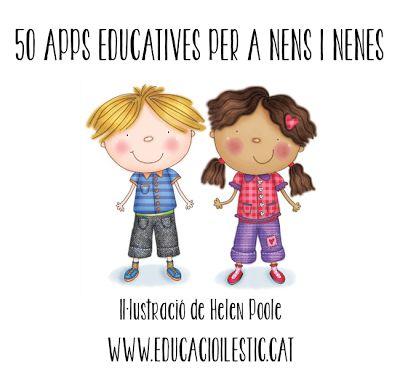 Educació i les TIC: 50 apps educatives per a nens i nenes