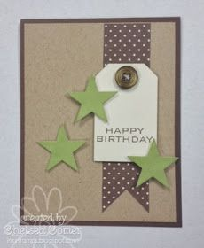 Made this card for one of my guy employees ... I'm just not that good at guy cards ... Love the layout and look of this thoug...