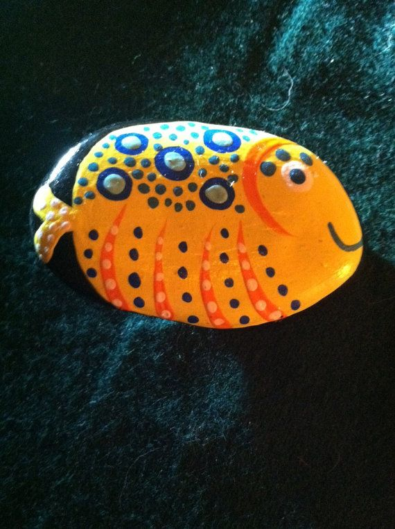 120 best images about painted rocks fish on pinterest for Best places to magnet fish