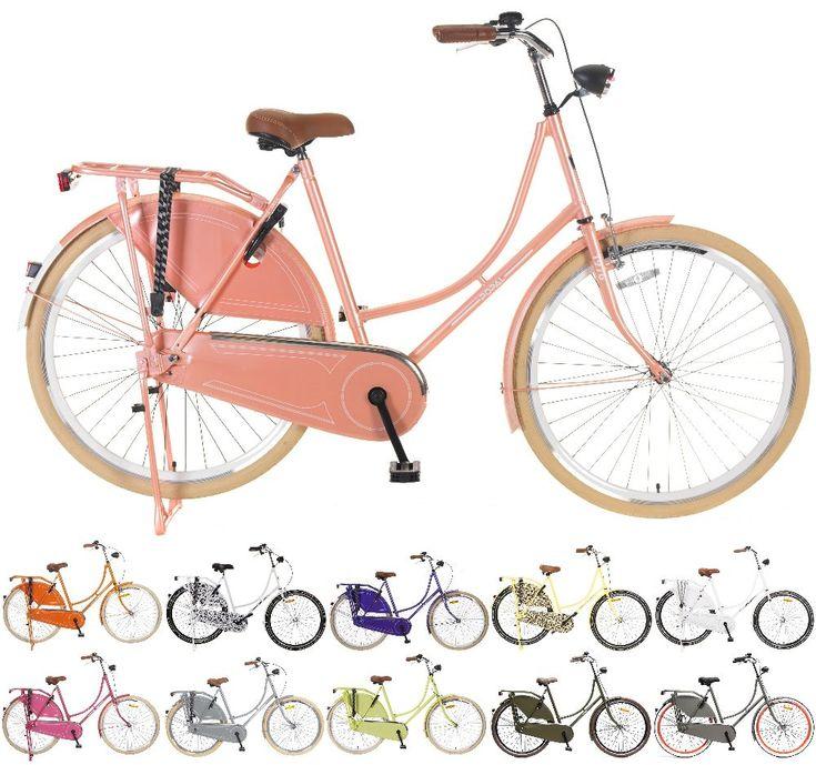 """28"""" Zoll Damen Holland Fahrrad Popal Omafiets OM28 Retro Hollandrad Vintage Rücktritt kaufen bei Hood.de"""