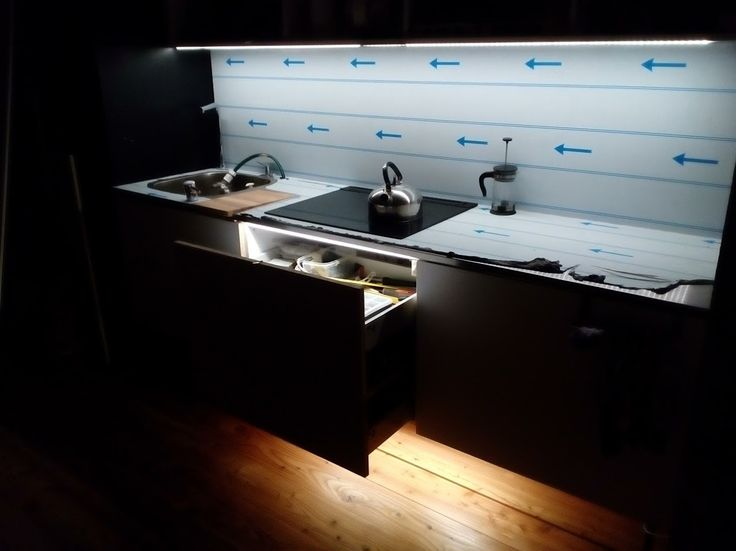 BLUM drawers + hidden drawers