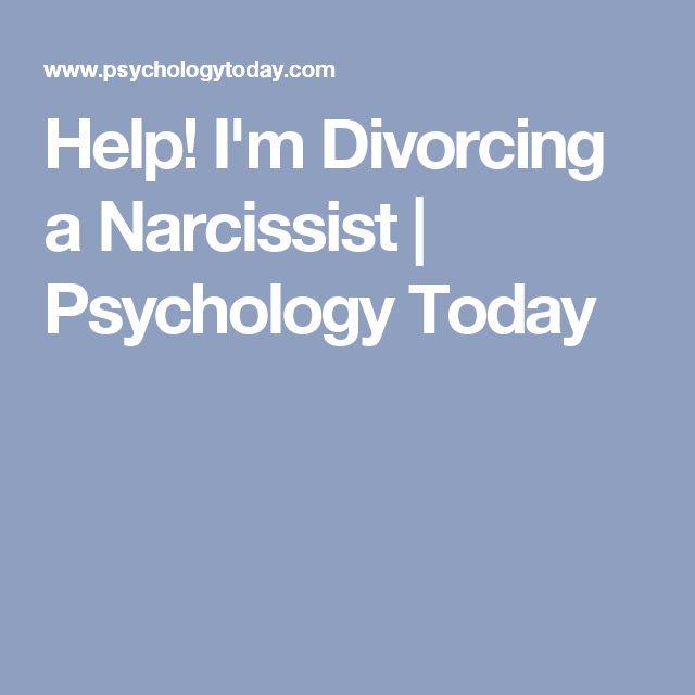 Help! I'm Divorcing a Narcissist | Psychology Today