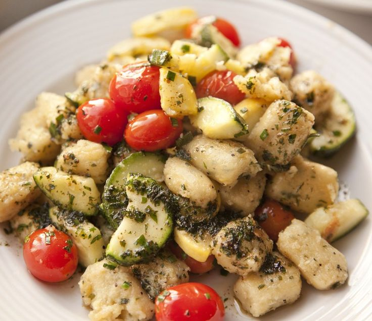 Gnocchi with Summer Vegetables | Recipes to try | Pinterest
