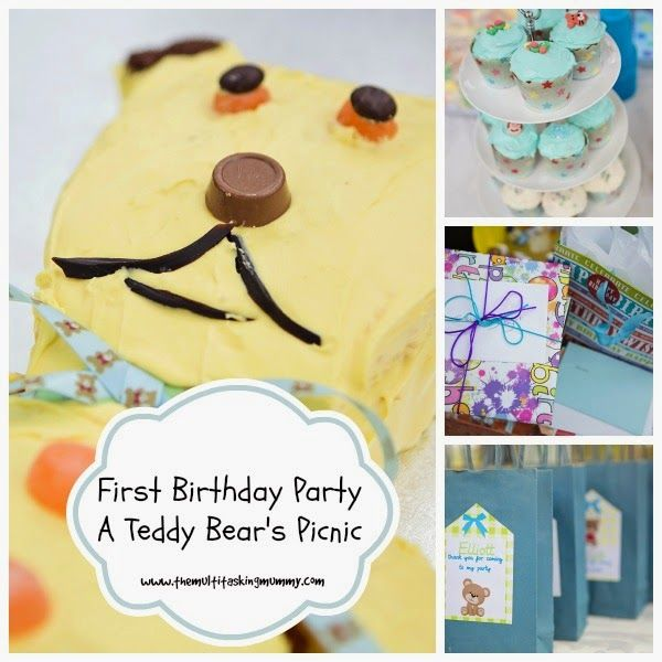 First Birthday Party - A Teddy Bears Picnic