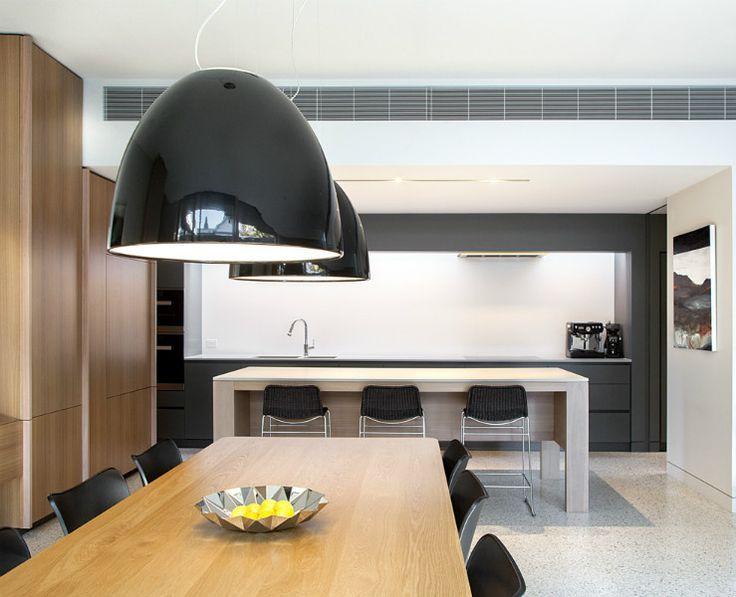 Laurel House - Neil Architecture 1. Concrete flooring colour            2. Splashback colour