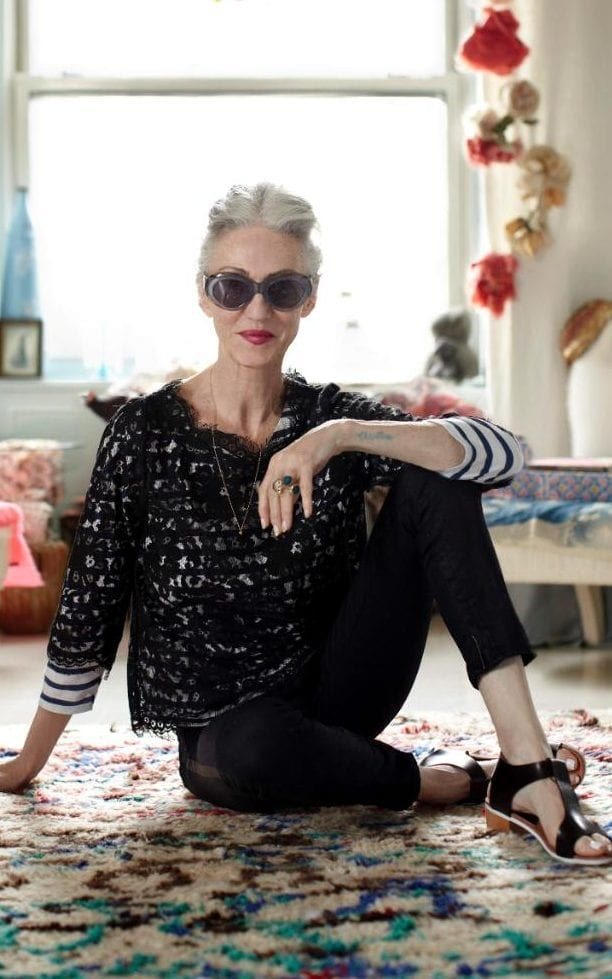 Linda Rodin started her beauty company from her own kitchen in New York.