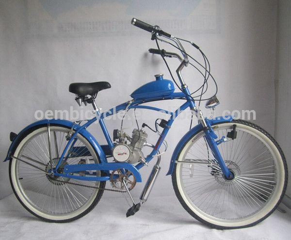 gas powered motorized bicycle moto bicicleta #bicycles, #Bicicletas