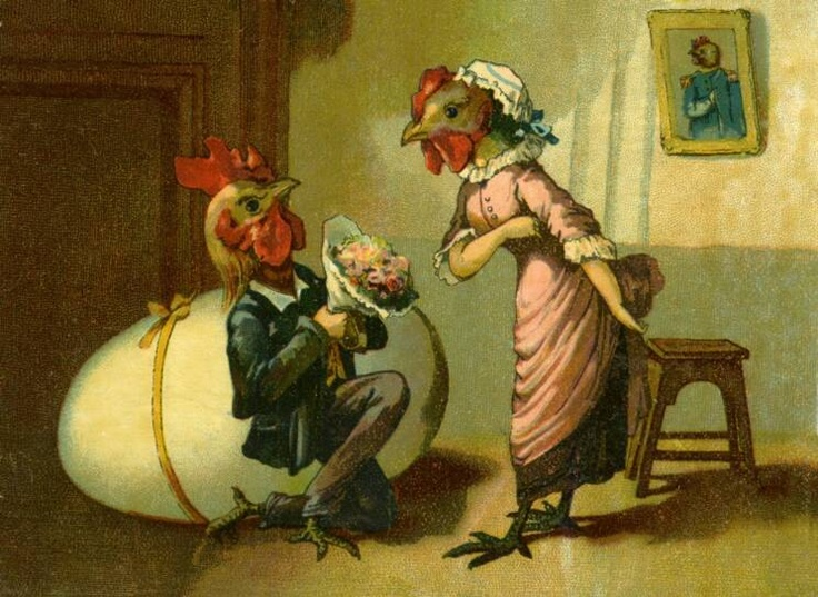 Image result for victorian pictures of chickens