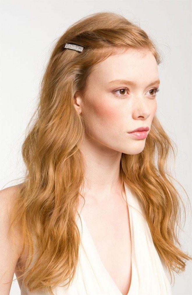 Tagli per capelli crespi: taglio lungo ondulato