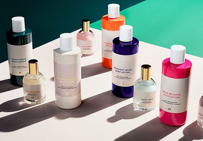 Discover the new H&M beauty collection from the fashion giant. Perfume oil, eau de toilette and scented products add to the makeup line.