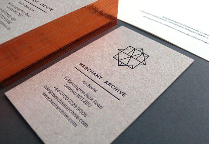 Bless Design - Merchant Archive #businesscard