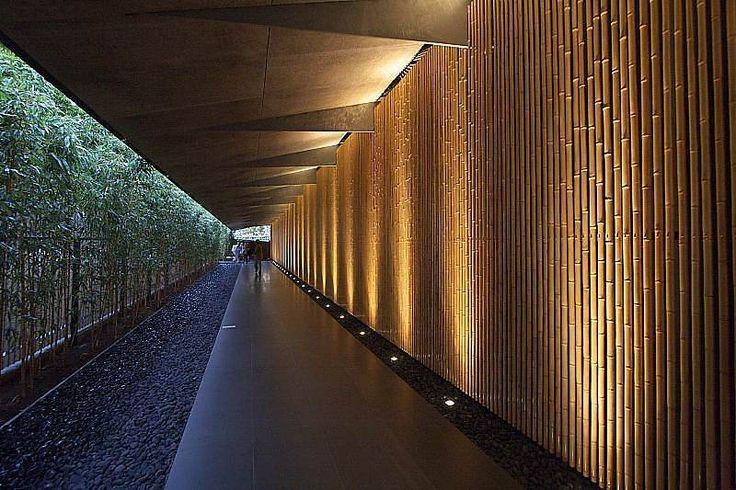 tab - 竹を美しく静かに「隈研吾」の根津美術館